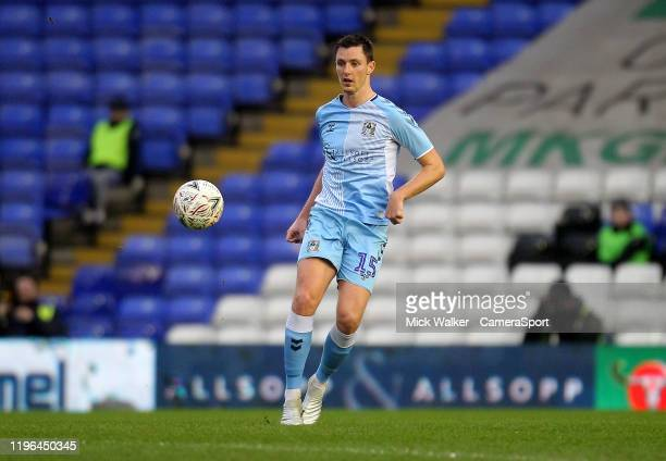 Coventry City's Dominic Hyam during the FA Cup Fourth Round match between Coventry City and Birmingham City at St Andrew's Trillion Trophy Stadium on...