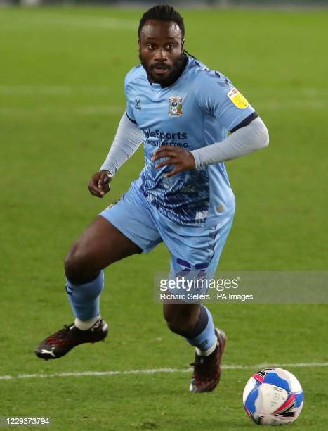 Coventry City's Fankaty Dabo during the Sky Bet Championship match at Riverside Stadium, Middlesbrough.