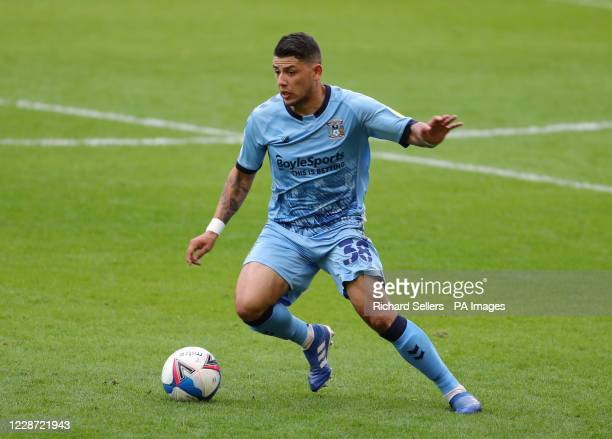 Coventry City's Gustavo Hamer during the Sky Bet Championship match at Oakwell, Barnsley.