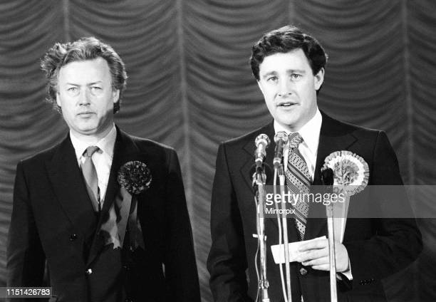 Coventry North West By-election, due to the death of the incumbent Maurice Edelman, Coventry, Thursday 4th March 1976; pictured Geoffrey Robinson...