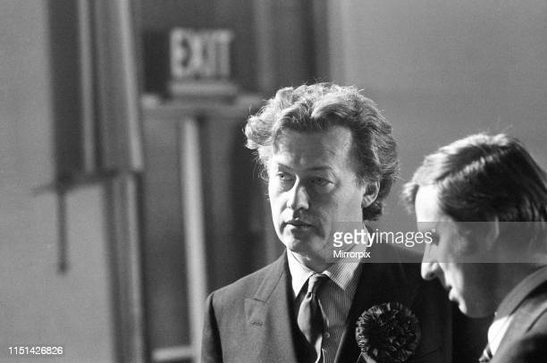 Coventry North West By-election, due to the death of the incumbent Maurice Edelman, Coventry, Thursday 4th March 1976; pictured Jonathan Guinness,...