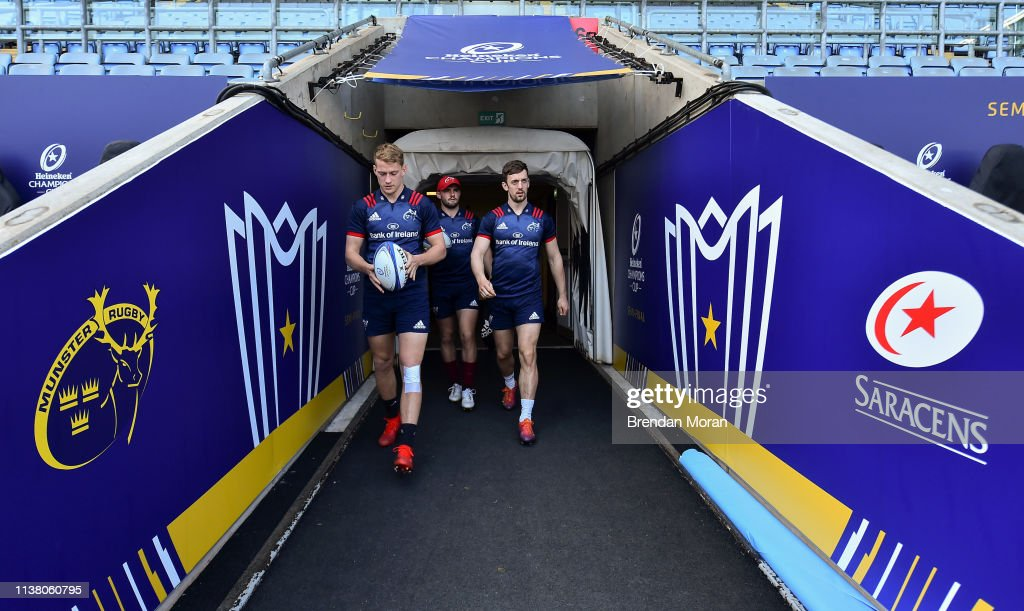 GBR: Munster Rugby Captain's Run