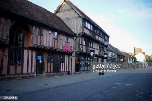 Coventry's medieval Spon Street, many historic buildings were moved to Spon Street from other parts of the city after the blitz of WWII, on November...
