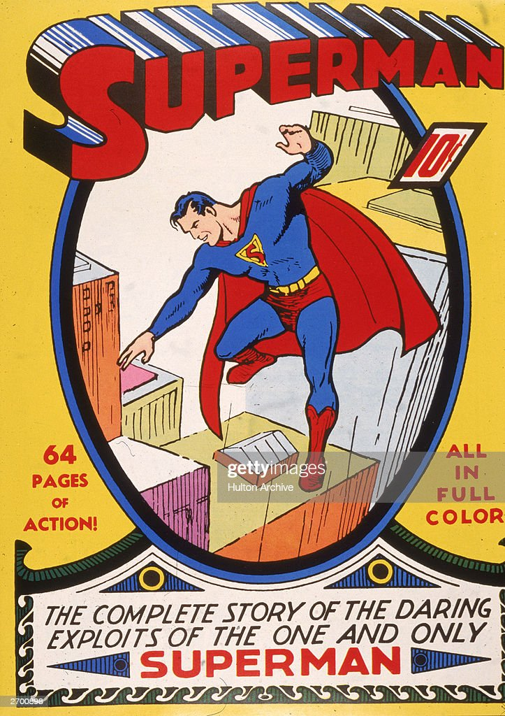 'Superman' Comic Book Cover  : News Photo