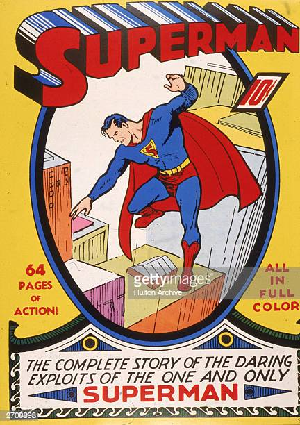 Cover art for the 'Superman' comic book 1930s