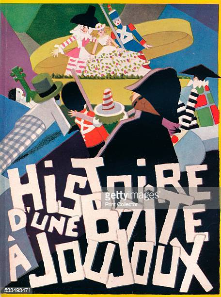 Cover Design by Andre Helle for Histoire d'une Boite a Joujoux 1926 A children's book which came after a collaboration on a ballet between Andre...