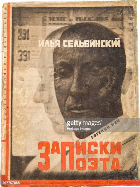 Cover design for Notes of a Poet by Ilya Selvinsky Found in the Collection of Russian State Library Moscow