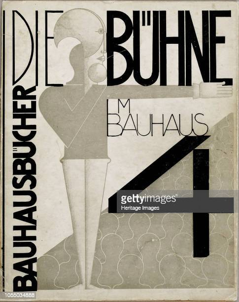 Cover design The stage at the Bauhaus 1925 Private Collection Artist Schlemmer Oskar