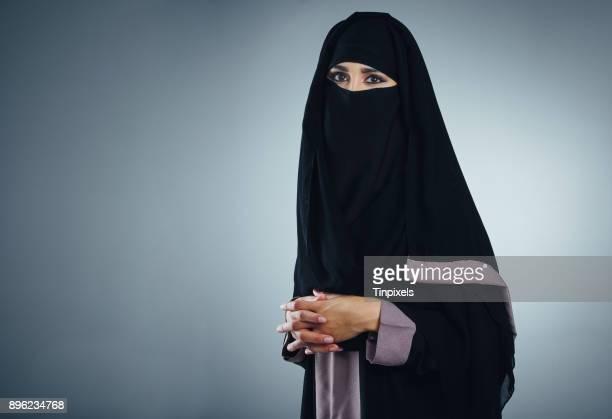 I cover my face, not my faith