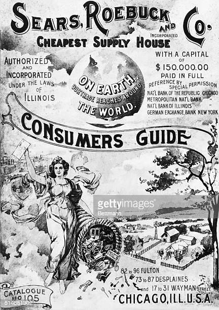 Cover of a Sears Roebuck Co Consumer's Guide Fall 1897