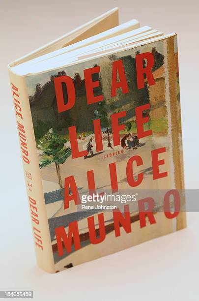 Cover of Alice Munro book Toronto October 10 2013