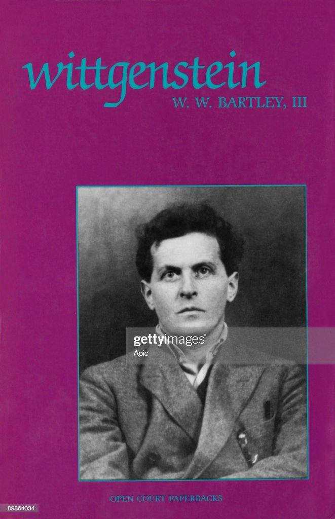 "Cover of book ""Wittgenstein"" by WW Bartley III (1973) : Ludwig Wittgenstein (1889-1951) austrian philosopher : News Photo"
