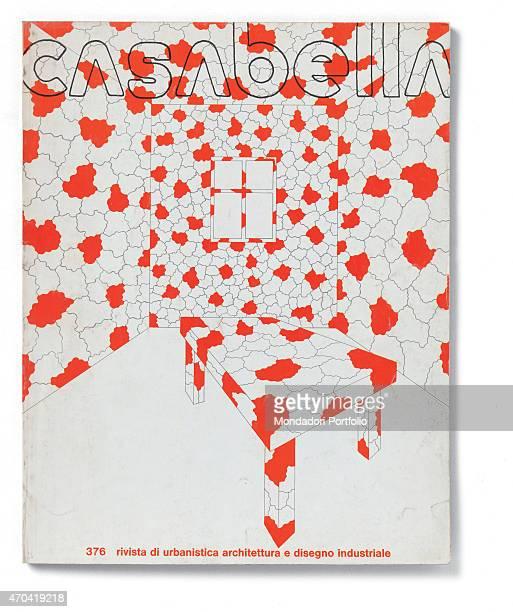 Cover of Casabella N 376 April 1973 20th Century graphic5 x 31 cm Italy Lombardy Milan Arnoldo Mondadori Editore Whole artwork view Outline headline...