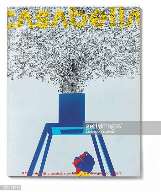 'Cover of Casabella N 379 July 1973 20th Century graphic 31 x 245 cm Italy Lombardy Milan Arnoldo Mondadori Editore Whole artwork view Yellow...