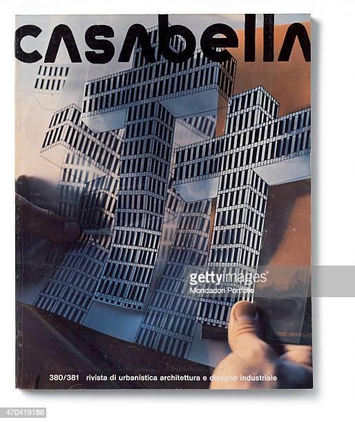 Cover of Casabella N 380381 AugustSeptember 1973 20th Century graphic 31 x 245 cm Italy Lombardy Milan Arnoldo Mondadori Editore Whole artwork view...
