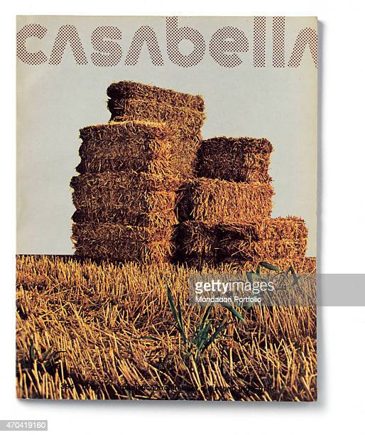 Cover of Casabella N 394 October 1974 20th Century graphic 31 x 245 cm Italy Lombardy Milan Arnoldo Mondadori Editore Whole artwork view Dot fancy...