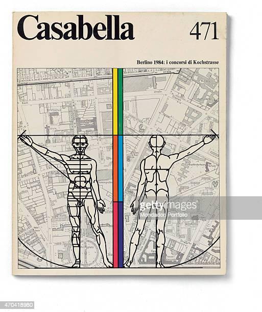 'Cover of Casabella N 471 JulyAugust 1981 20th Century graphic 31 x 245 cm Italy Lombardy Milan Arnoldo Mondadori Editore Whole artwork view Black...