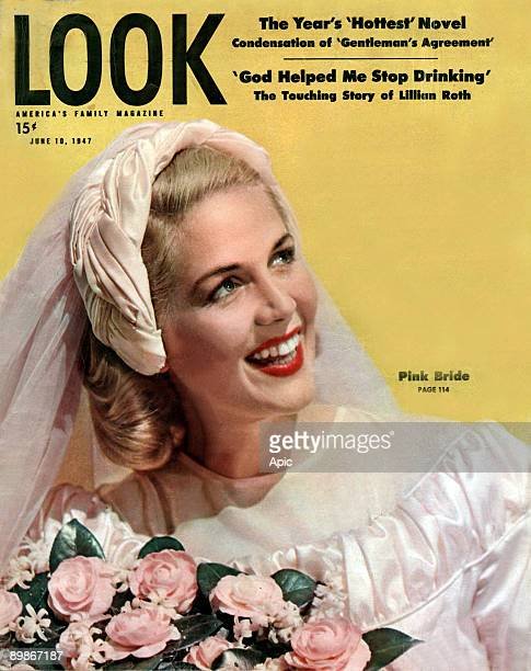 Cover of Look magazine 10 June 1947 illsutration condensation of the novel the hottest years of the agreement of God record helped me to stop the...