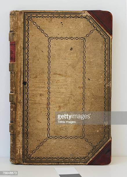 Cover of old ledger book
