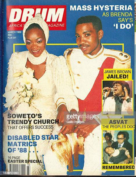 Cover of South African magazine Drum