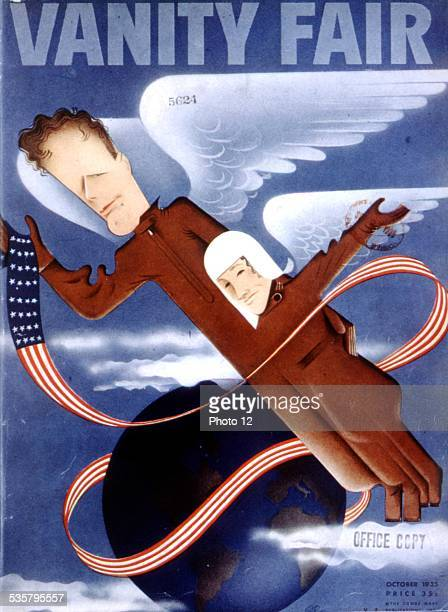 Cover of the magazine 'Vanity fair' Development of the aeronautics industry in the United States Washington Library of Congress