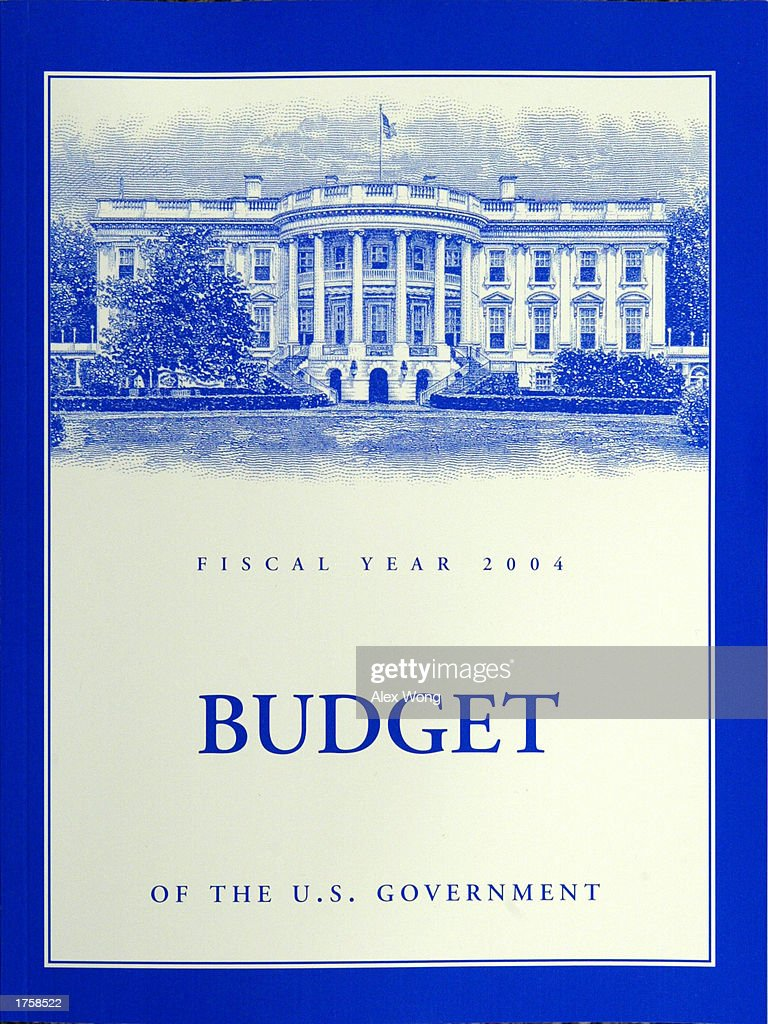 u s government releases 2004 budget pictures getty images