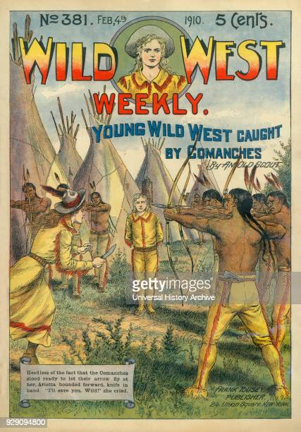 Cover of Wild West Weekly Magazine No 381 February 4 1910