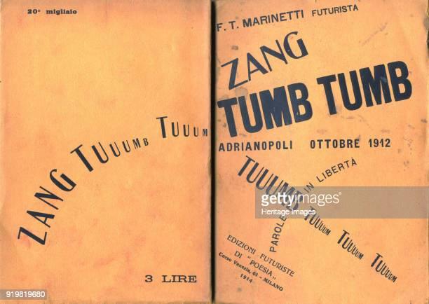 Cover of Zang Tumb Tumb 1914 Found in the collection of Biblioteca Poletti Palazzo dei Musei Modena