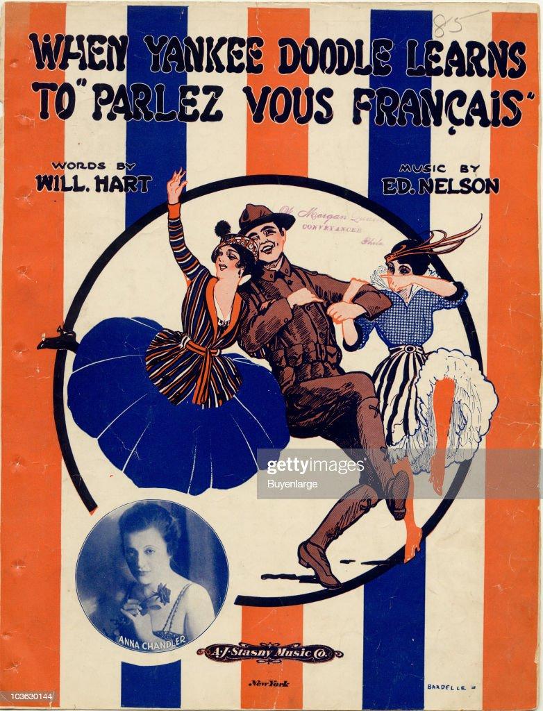 When Yankee Doodle Learns To Parlez Vous Francais : News Photo