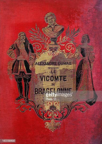 Cover 'The Vicomte De Bragelonne' Illustration by J Desandre and A de Neuville Edition 1871 Alexandre Dumas Private collection