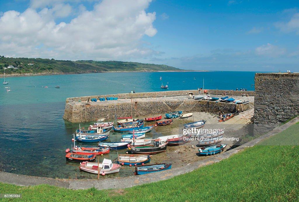 Coverack, Cornwall, England, United Kingdom, Europe : Stock Photo