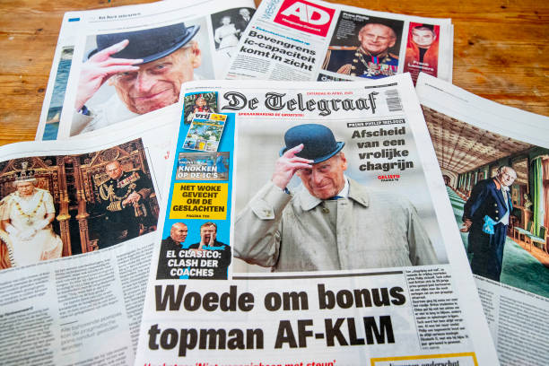 NLD: Dutch Newspapers The Day After Duke of Edinburgh Died