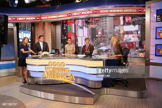 Coverage of GOOD MORNING AMERICA, 11/20/13, airing on the Walt Disney Television via Getty Images Television Network. GINGER ZEE, JOSH ELLIOTT, ROBIN...