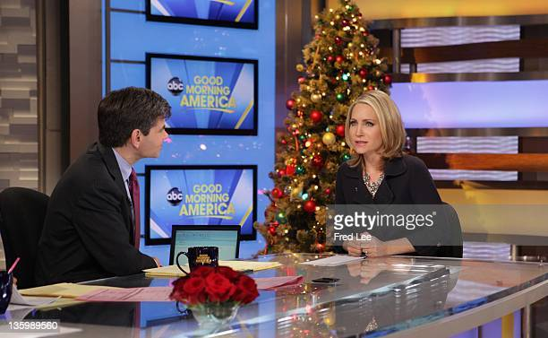 AMERICA Coverage of GOOD MORNING AMERICA 12/14/11 airing on the Walt Disney Television via Getty Images Television Network GEORGE