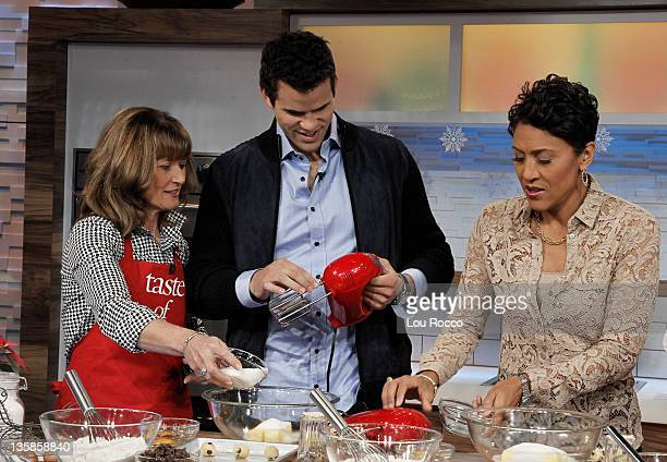 Coverage of GOOD MORNING AMERICA 12/9/11 airing on the Walt Disney Television via Getty Images Television Network DEBRA