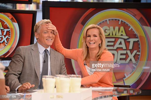 AMERICA Coverage of GOOD MORNING AMERICA 7/2/13 airing on the Walt Disney Television via Getty Images Television Network SAM