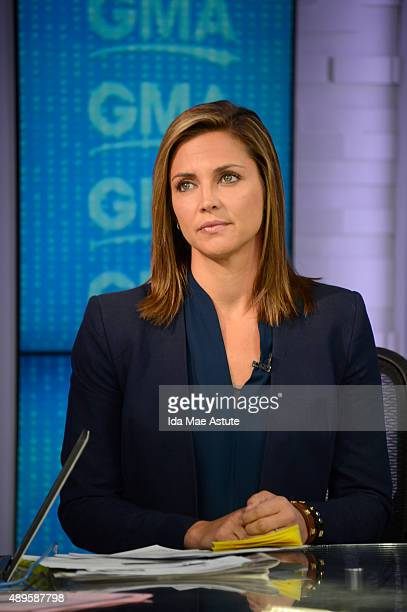 AMERICA Coverage of GOOD MORNING AMERICA 9/22/15 airing on the Walt Disney Television via Getty Images Television Network