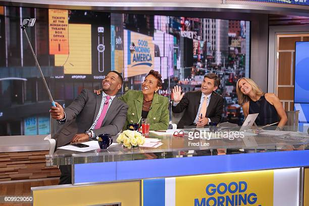 AMERICA Coverage of 'Good Morning America' 9/23/16 airing on the ABC Television Network MICHAEL