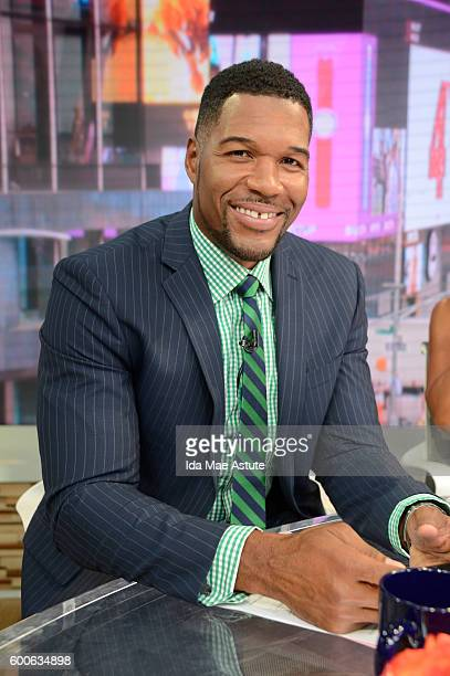 AMERICA Coverage of GOOD MORNING AMERICA 9/8/16 airing on the ABC Television Network MICHAEL