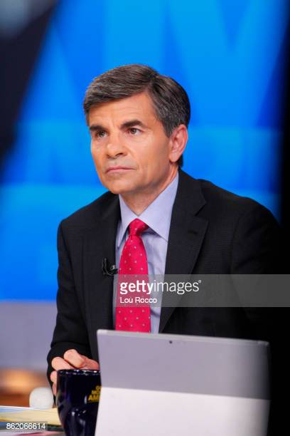 AMERICA Coverage of Good Morning America Monday October 16 airing on the Walt Disney Television via Getty Images Television Network GEORGE
