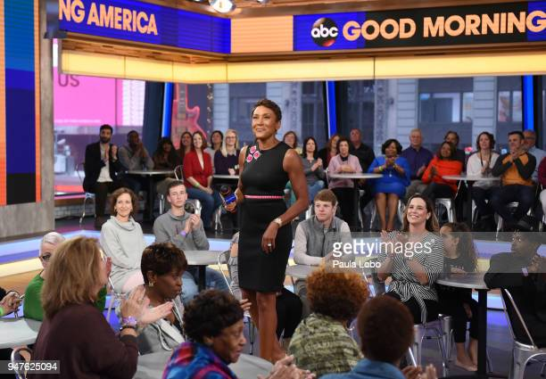 AMERICA Coverage of 'Good Morning America' Tuesday April 17 airing on the ABC Television Network ROBIN