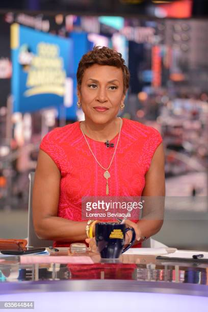 AMERICA Coverage of Good Morning America Tuesday February 14 2017 on the Walt Disney Television via Getty Images Television Network ROBIN