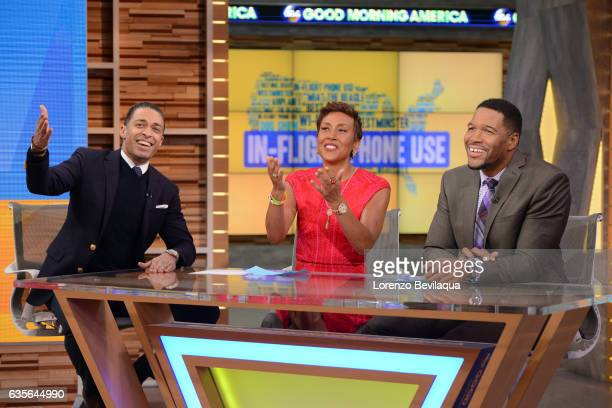 AMERICA Coverage of 'Good Morning America' Tuesday February 14 2017 on the ABC Television Network TJ