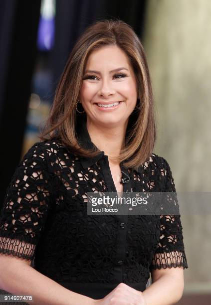 AMERICA Coverage of Good Morning America Tuesday February 6 airing on the Walt Disney Television via Getty Images Television Network REBECCA