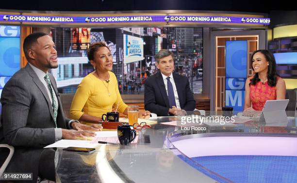 AMERICA Coverage of Good Morning America Tuesday February 6 airing on the Walt Disney Television via Getty Images Television Network MICHAEL