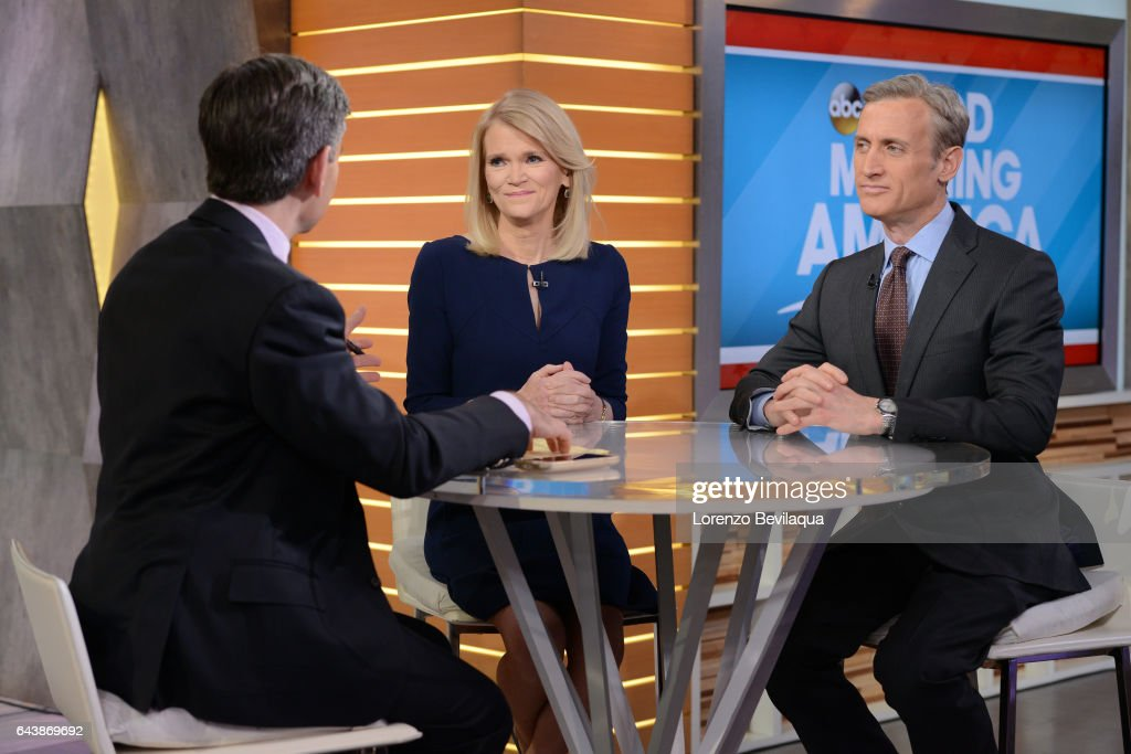 AMERICA Coverage of 'Good Morning America,' Wednesday, February 22, airing on the ABC Television Network. GEORGE