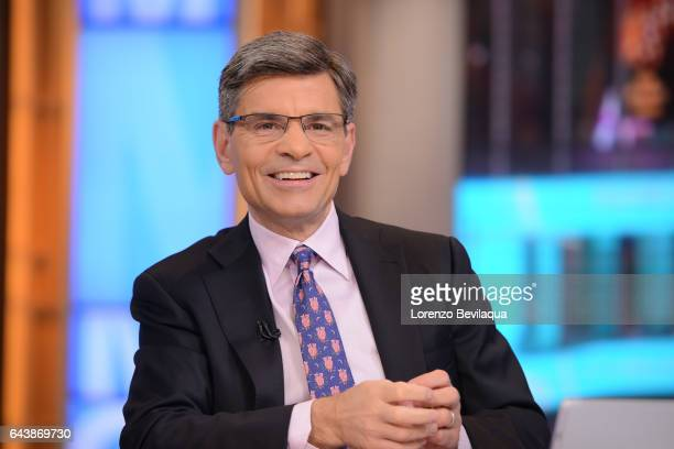 AMERICA Coverage of Good Morning America Wednesday February 22 airing on the Walt Disney Television via Getty Images Television Network GEORGE