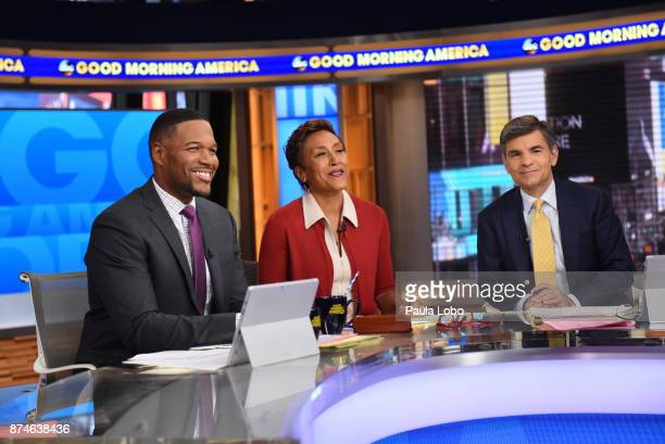 AMERICA Coverage of Good Morning America Wednesday November 15 airing on the Walt Disney Television via Getty Images Television Network MICHAEL