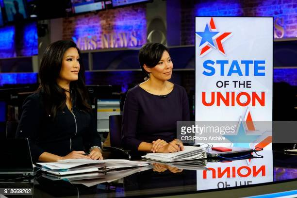 CBSN coverage of President Donald Trump's first State of the Union Address and the Democratic response with CBSN anchor Elaine Quijano and CBS THIS...