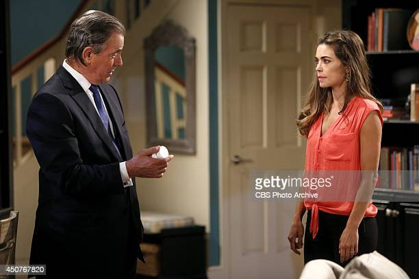 Coverage of the CBS series THE YOUNG AND THE RESTLESS scheduled to air on the CBS Television Network Pictured Eric Braeden and Amelia Heinle